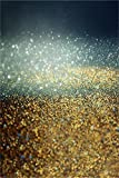 LFEEY 3x5ft Glitter Sequins Photography Background Bokeh Sparkle Spots Backdrop Twinkle Dots Abstract Halos Photo Studio Props Kid Child Baby Holiday Party Decoration Vinyl Banner