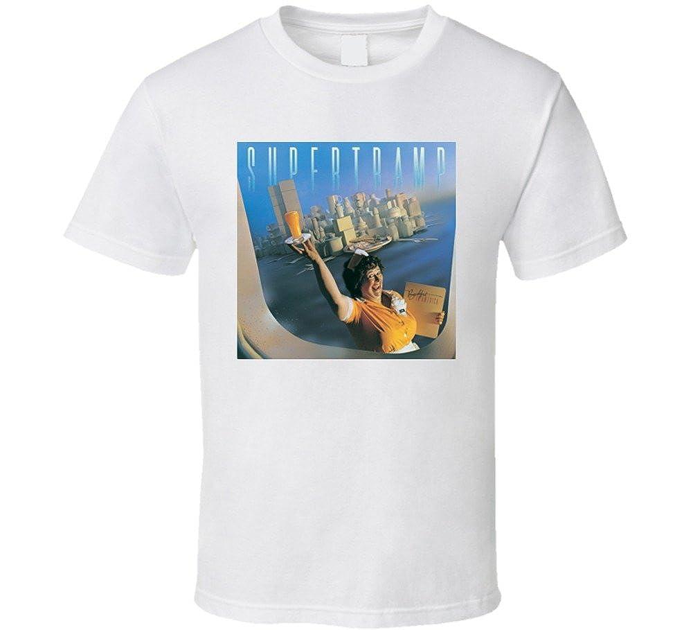 Perfect Fit T Shirts Supertramp Breakfast In America Classic Rock