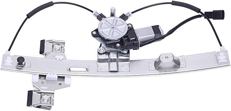 Rear Left Passenger Side Power Window Lift Regulator with Motor fit for 04 05 06 07 08 Pontiac Grand Prix GT1 GT2 GTP GXP GT Base Sedan 4-Door 3.8L 5.3L