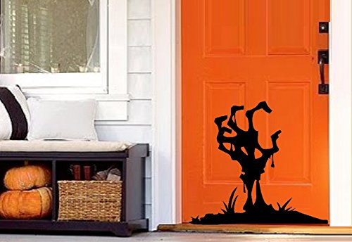 Grave Digger Hand ~ HALLOWEEN: WALL OR WINDOW DECAL, 11