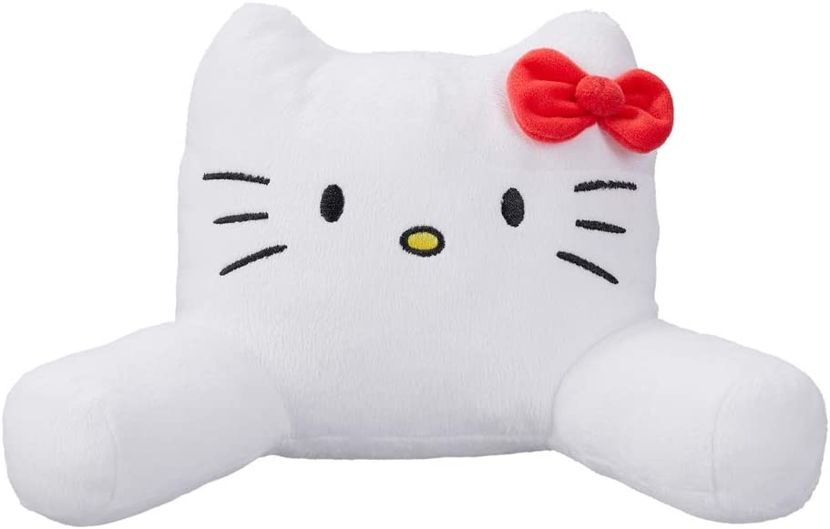 """My Life As Hello Kitty Pillow - Soft White Lounge Pillow in Hello Kitty Style ~ Made for 18"""" Dolls"""