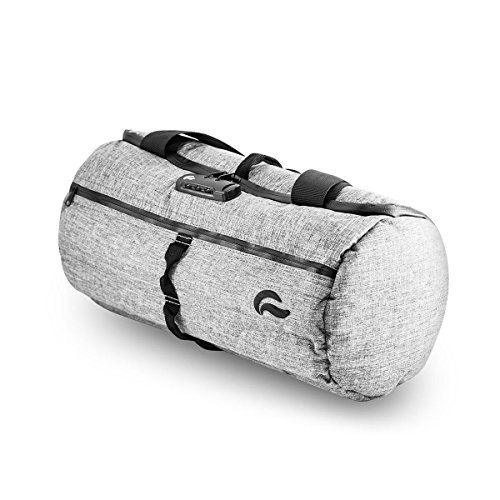 "Skunk Duffle bag- Smell Proof - With combo lock (Gray, 16""x7.5"")"