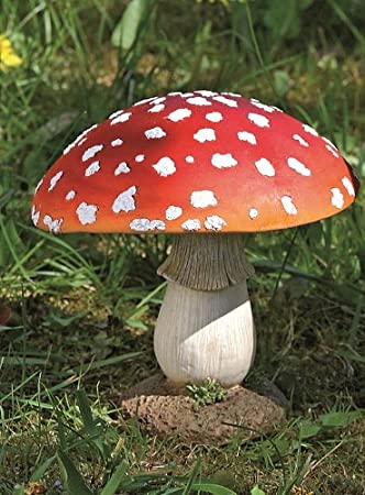 Deko Pilz.Fliegenpilz Deko Pilz Gartendeko Pilze Garten Rot Getupft H Ca 17 Cm 1812 2501000a