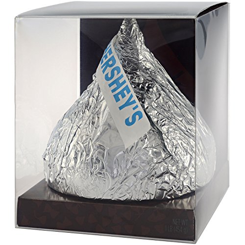 Large Kiss (HERSHEY'S HERSHEY'S KISSES Chocolate 1lb. -THE ULTIMATE KIS)