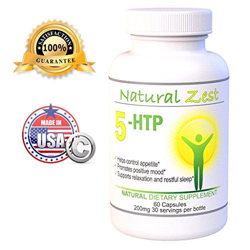 5 HTP Natural Mood Support   100mg   200mg   Meilleur Supplément pour booster la sérotonine et améliorer votre ambiance   de l'OGM de   le soulagement des symptômes de stress, l'anxiété et la dépression   Prise en charge Sommeil réparateur   Aide à Contrô