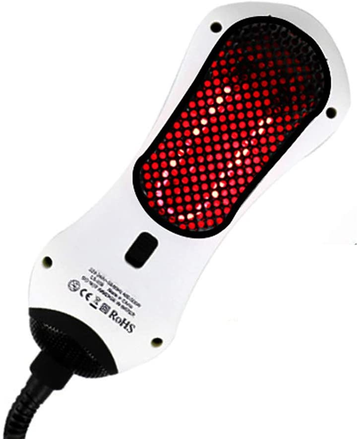 Peine de aire caliente infrarrojo portátil Mini secador de pelo 2 en 1 Peine de cabello recto para todos los tipos de cabello Cepillo de alisado de rodillo