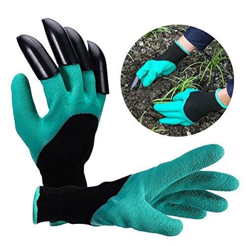 Puncture Resistant Itian One Pair Waterproof Garden Gloves For Gardening