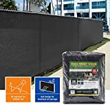 Privacy Fence Screen 85% (6 ft. x 50 ft., Black) Review