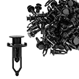 uxcell 100 Pcs Push-Type Automotive Clips Rivet