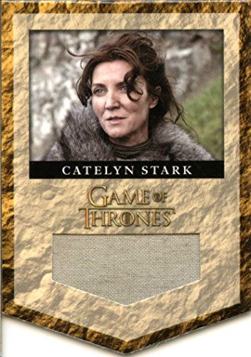 2013 Game of Thrones Season Two 2 Banner Relic Card RS2 Catelyn Stark 003/375