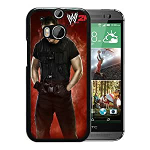 Fashionable And Unique Designed Case For HTC ONE M8 Phone Case With wwe 2k14 dean ambrose Black