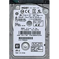 HGST HTS545050A7E362 P/N: 0J38105 MLC: DA5754 Mac 655-1730F 500GB Hitachi