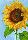 Russ Berrie 644501 Sunflower Large Garden Flag