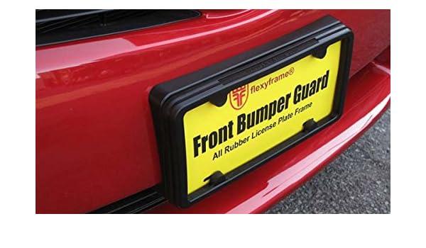 A NASA-like Rubber License Plate Bracket Frame Mount Guard Bumper for CHEVROLET