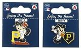 MLB Pittsburgh Pirates Disney Mickey Collectible Trading Pin Set