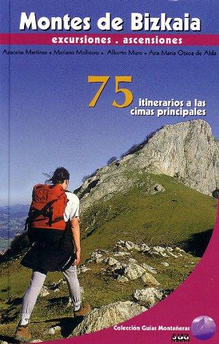 Montes de Bizkaia (Guías montañeras) por Azucena Martínez