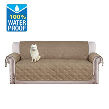 H.VERSAILTEX Pet Friendly 100% Waterproof Plush Furniture Protector For  Dogs Cats Protect From