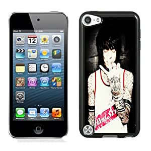 Never Shout Never 02 Black Hard Plastic Ipod Touch 5th Generation Phone Cover Case