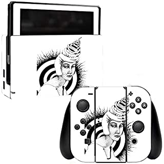 MightySkins Skin Compatible with Nintendo Switch - Twisted Mind | Protective, Durable, and Unique Vinyl Decal wrap Cover | Easy to Apply, Remove, and Change Styles | Made in The USA