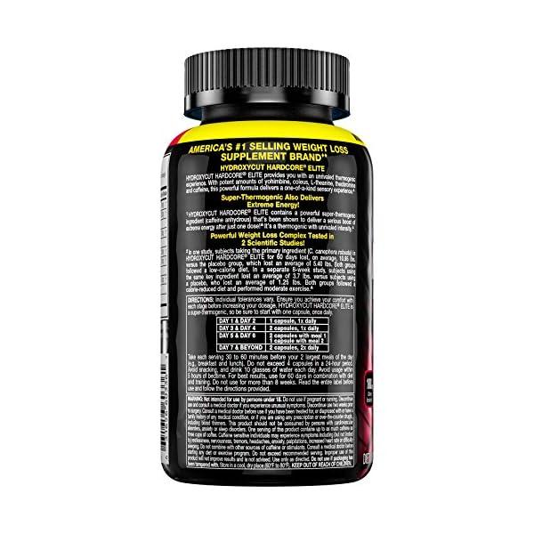 Health Shopping Weight Loss Pills for Women & Men | Hydroxycut Hardcore Elite | Weight Loss Supplement