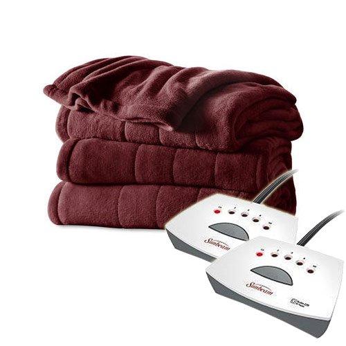 sunbeam electric blanket velvet - 5