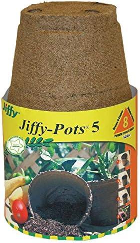 Jiffy-Pots 5- JP 506, 6 Count