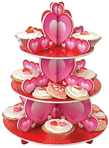Foam Valentine's Day Cupcake Holder Stand
