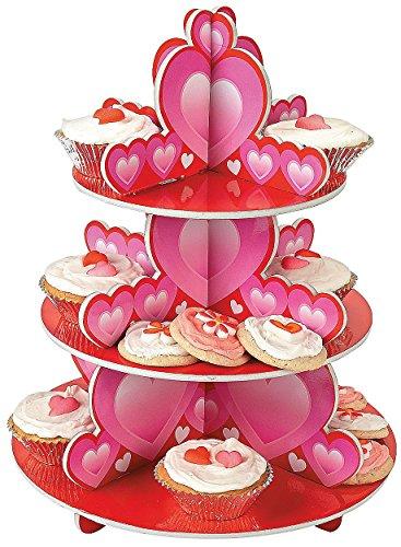 Foam Valentine's Day Cupcake Holder Stand