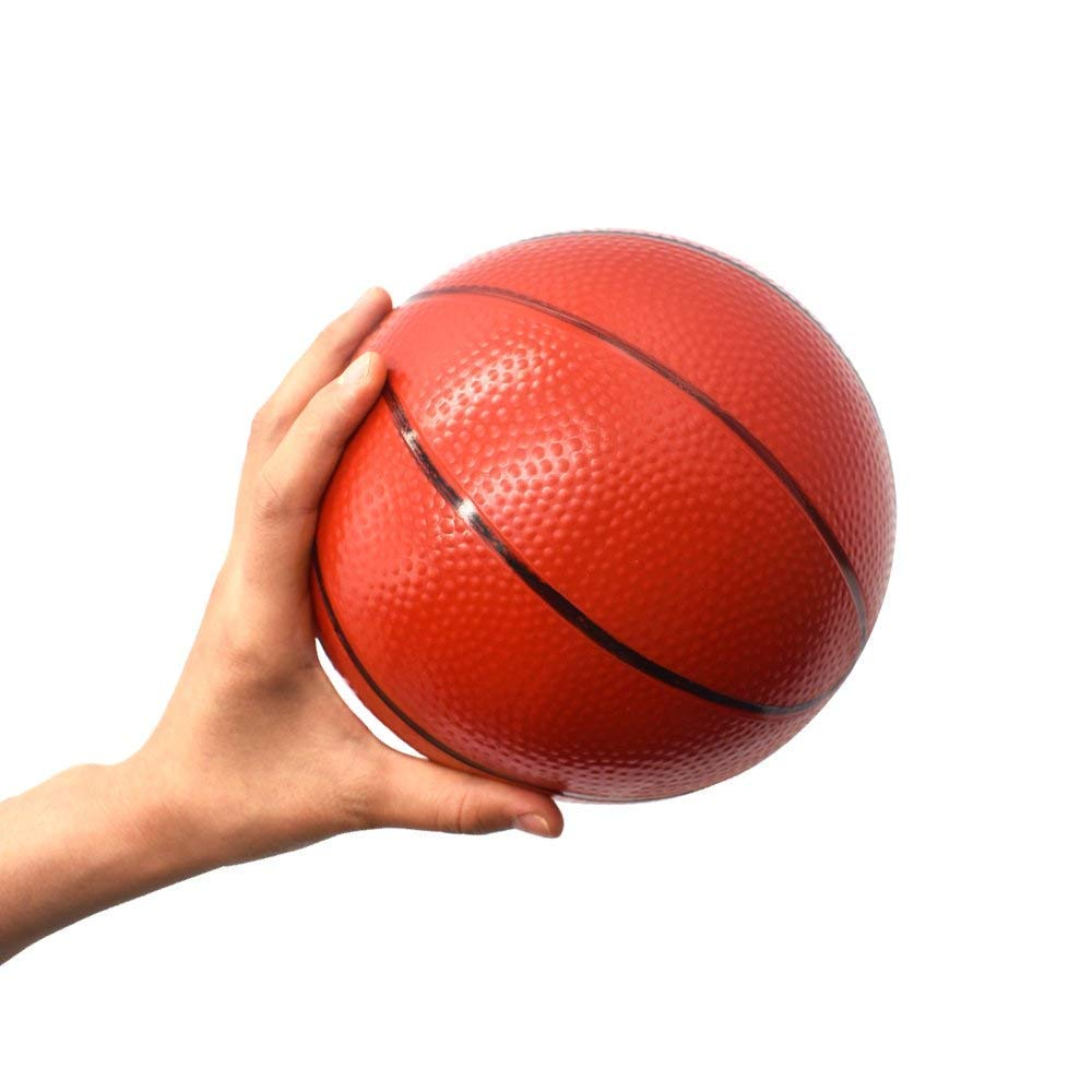 Gamtec 4PCS Ni/ños peque/ños//ni/ños Reemplazo de Goma Baketball Mini Juguete Plastic Basketballs 6.29Basketballs For Adult Home//Office 4PCS