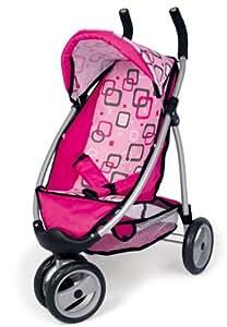 Bayer Design 39997 jogger Sport - Silla de paseo para muñecas, color rosa