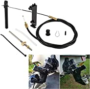 Bonbo 1 & 2 Lower Shift Cable Kit Replaces 865436A03 Fit for Mercruiser Alpha