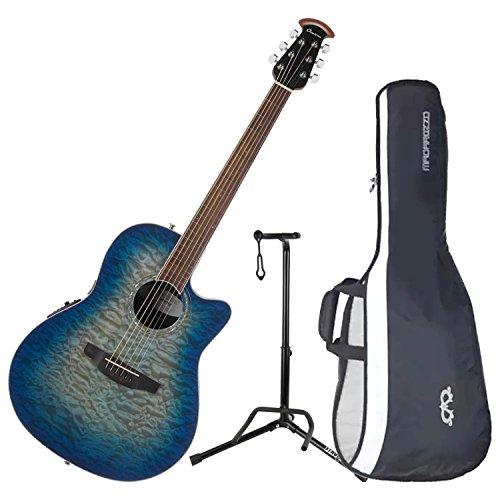 (Ovation CS28P-RG Celebrity Plus Super Shallow Regal to Natural A/E Guitar with Gig Bag)