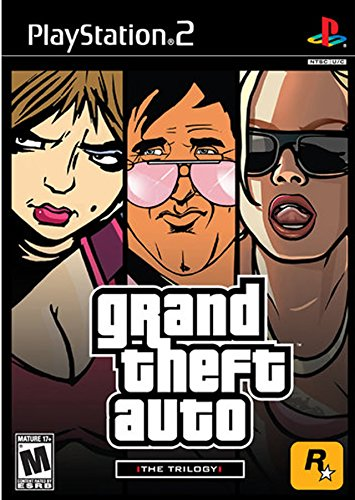 Grand Theft Auto: The Trilogy (Grand Theft Auto III/ Grand Theft Auto: Vice City / Grand Theft Auto: San - Theft Collection