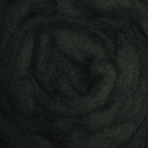 Wistyria Editions 12-Inch Wool Roving, 0.22-Ounce, Forest...