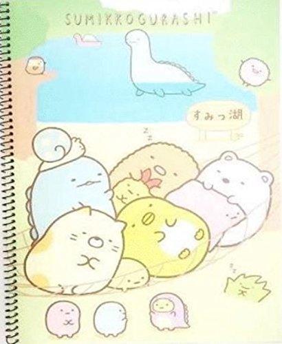 Sumikko Gurashi Beach Spring Notebook NT 6910