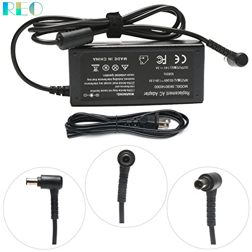 Reo 14V 3A 42W Power Cord For Samsung-Monitor SyncMaster S24D590PL S24D390HL S27D390H S27D590P S27D360H S22C300H S23C350H S24B150BL S27D391H S27D393H, P/N:A3514-DPN ad-4214l ad-4214n BN44-00592B ()