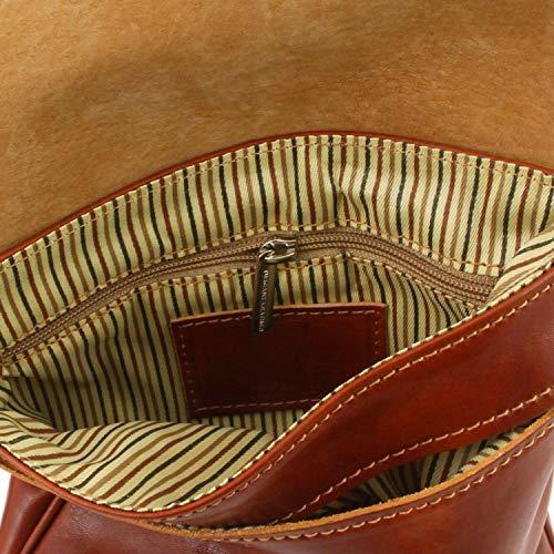 En Joe Tuscany Unisex Miel Leather Marrón Piel Bolsillo Oscuro xPIIZq