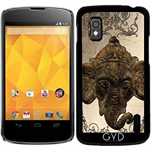 Funda para Google Nexus 4 - India Elefante by nicky2342