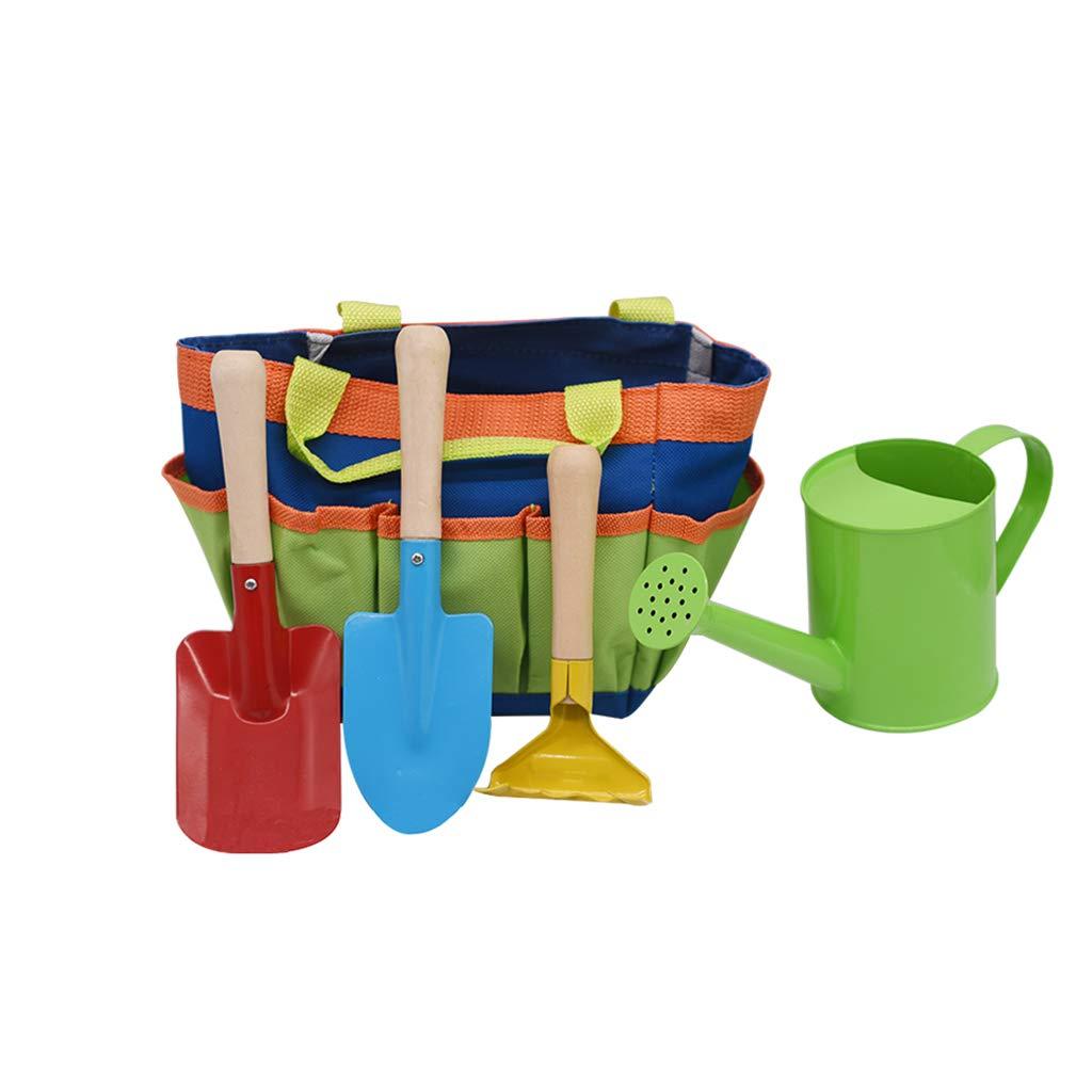 Mingteng Children's Gardening Tools, Toys, Children's Small Tote Bag, Gardening Bag, Tool Garden Set