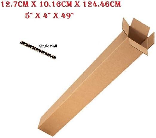 5 cajas de cartón largas para caja de embalaje de golf, 12,7 x 10 ...