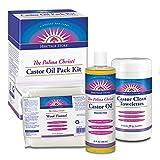 Heritage Store Castor Oil Pack Kit