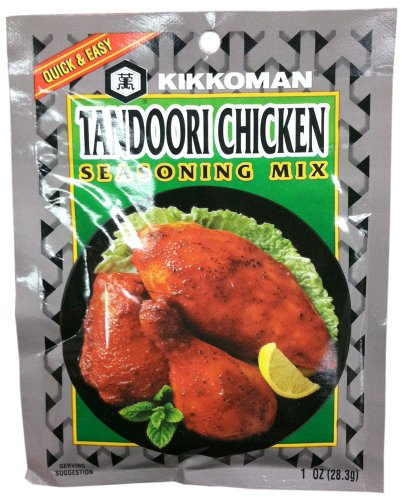 Kikkoman TANDOORI CHICKEN Seasoning Mix 1oz (10 Pack) by Kikkoman