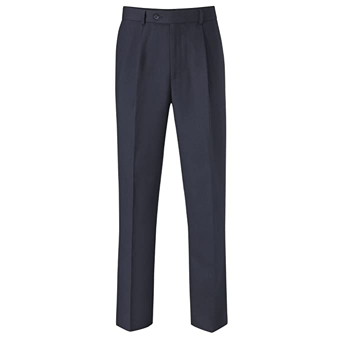 Skopes Mens Rhino Pleated Work/Suit Pants/Trousers at Amazon ...