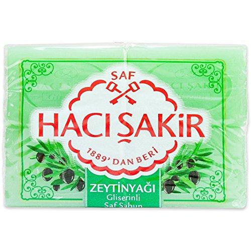 Haci Sakir Seife Olivenöl 4er Pack 4 x 175 g