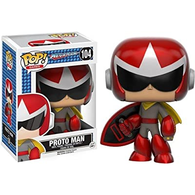 Funko POP Games: Mega Man - Proto Man Action Figure: Artist Not Provided: Toys & Games