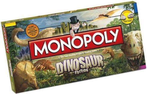 Monopoly Dinosaur Board Game [Importación Inglesa]: Amazon.es: Videojuegos