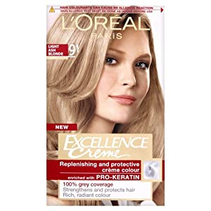 L\'Oreal Excellence Permanent Hair Colour 9 - they have discontinued ...