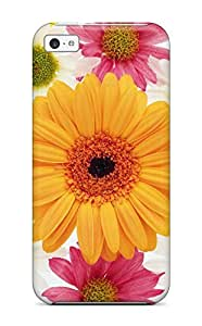Slim Fit Tpu Protector Shock Absorbent Bumper Flower S Case For Iphone 5c