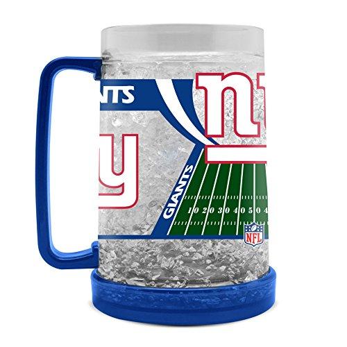 NFL New York Giants 16oz Crystal Freezer Mug (Mug Giants York New)