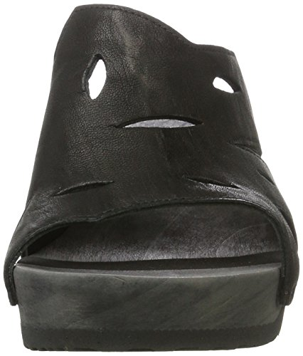 Think! Damen Zunda Clogs Schwarz (SZ/KOMBI 00)
